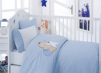 """Детское постельное белье """"Bebe"""" Blue Bear"""