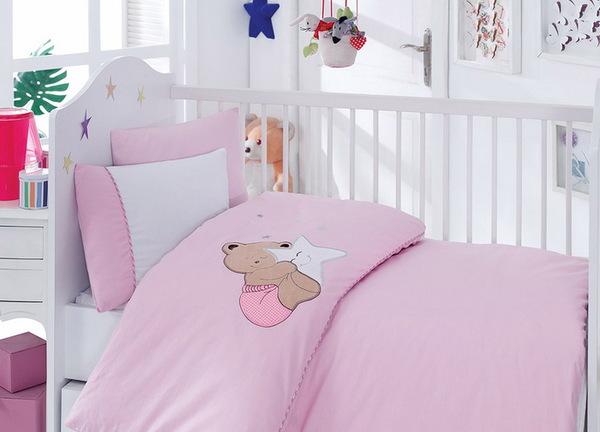 """Детское постельное белье """"Bebe"""" Bear"""