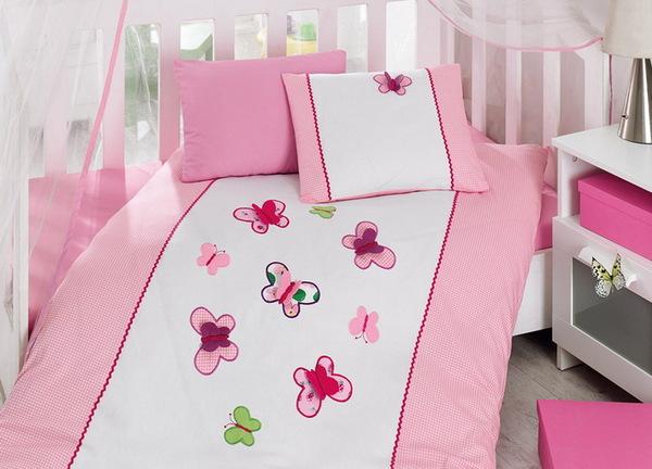 """Детское постельное белье """"Bebe"""" Butterfly"""