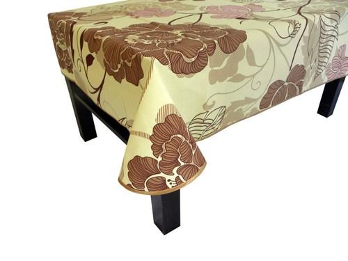 Скатерть с тефлоновым покрытием 148х220 Valtery Цветочный узор