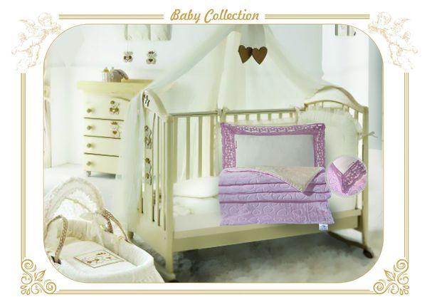 Детское постельное белье VF Новелла (розовый)