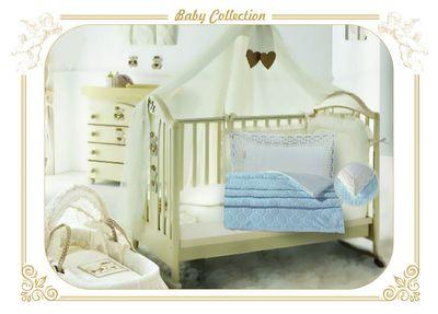 Детское постельное белье VF Новелла (голубой)