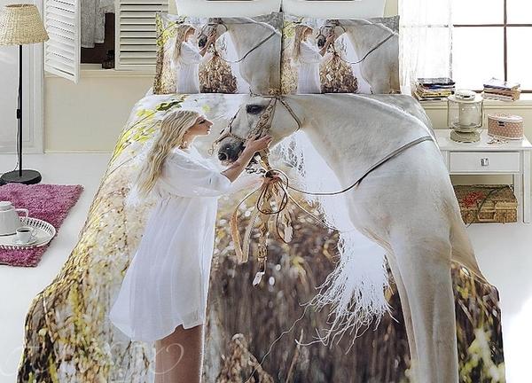Постельное белье Girl&Horse