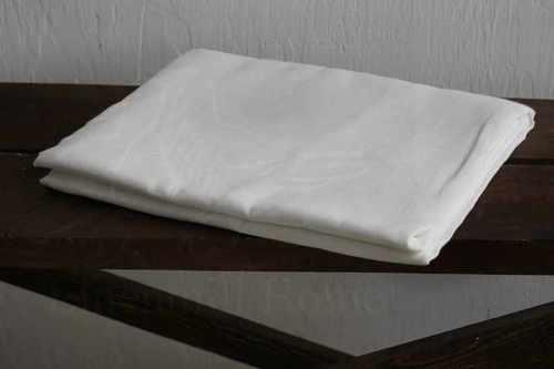Льняная простыня 150х200 см белая